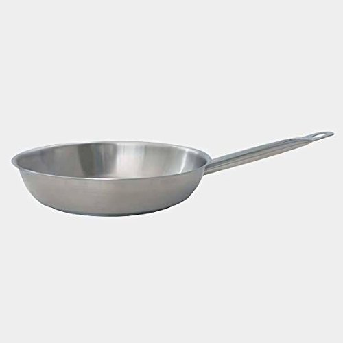 De Buyer Professional 32 cm Primary Cookware Stainless Steel Round Frypan with Tube Handle 3484.32