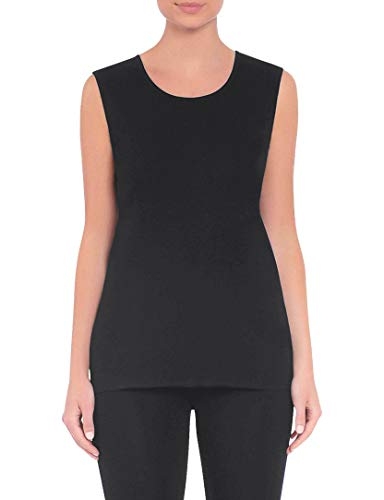 MISOOK 27'' Long Scoop Neck Tank (KT52, Small, Black) -