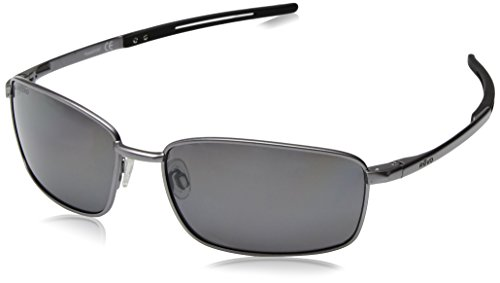 Revo Re 5000x Transport Pilot Polarized Aviator Sunglasses, Gunmetal Graphite, 60 - Revo Polarized
