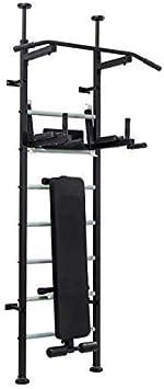 Home Gym Energy: banco de peso, banco de abdominales, barra de dominadas, barra de dominadas, barra