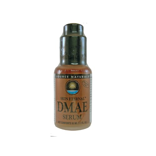 Source Naturals Skin Eternal DMAE Serum, Contains a Rich Blend of Nutrients and Plant Extracts, 1.7 Fluid ()