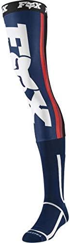 Fox Linc Knee Brace Sock Navy/Red