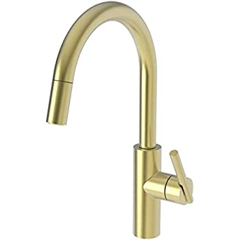 Newport Brass 1500 5103 06 Antique Brass East Linear Kitchen Faucet