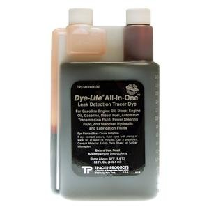 Tracer Products TRATP34000032 Dye Oil (Dye-Lite All-In-One™ Oil Dye, 32 Oz.)