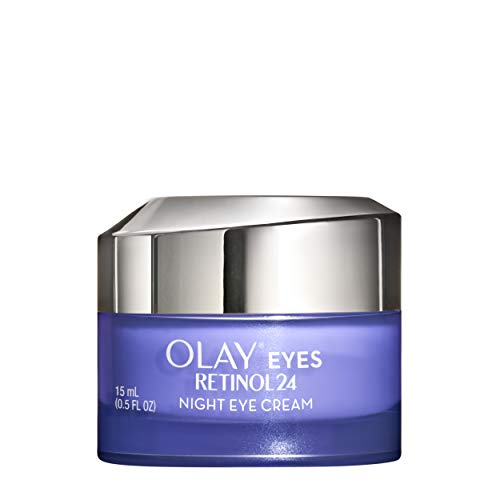 Olay Regenerist Retinol Eye Cream, Retinol 24 Night Eye Cream, 0.5oz + 1 Week Of Whip Face Moisturizer Travel/Trial Size