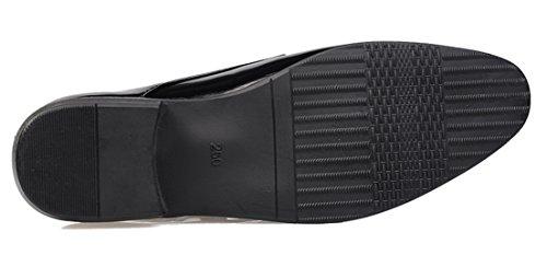 Basse Seaoeey Black4 Uomo Scarpe Stringate Hwqnz45wx