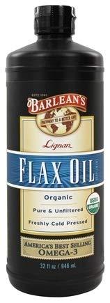 Barlean's, Organic Lignan Flax Oil, 1Pack (32 fl oz (946 ml)) by Barlean's Organic Oils (Image #1)