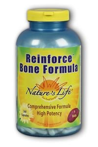 Nature's Life Reinforce Bone Formula, 360 (Bone Health Formula)