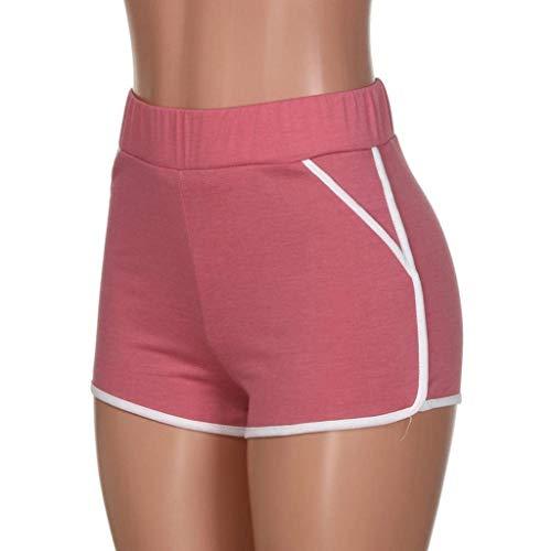Sportivi Vita In Estivi Da Corsa Casuale Rot Classiche Donne Pantaloncini Boxershort Elastico Yoga Allenamento Fitness Donna Pantaloni Cintura 7fOtwqdO
