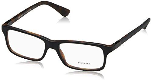 Prada PR06SV Eyeglass Frames UBH1O1-54 - Top Black/matte Tortoise PR06SV-UBH1O1-54 -