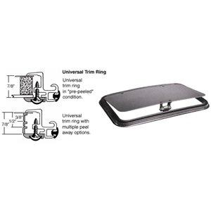SFC/CRL 16 x 36 NewPort Sunroof Universal Trim Ring - Solar High Performance (Crl Sunroof)