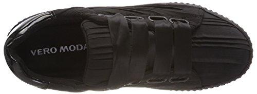 Noir Vmane Sneaker 39 EU Moda Vero Femme Basses Black Sneakers fTY5U