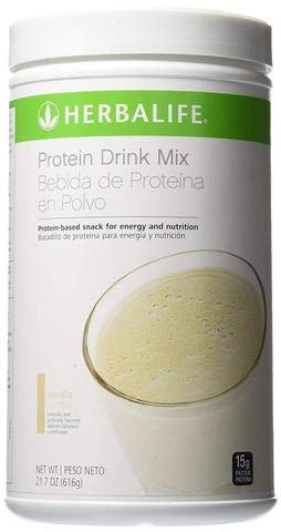 Herbalife Protein Drink Mix PDM - Vanilla (616 gm Canister)