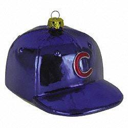 Scottish Christmas Chicago Cubs Baseball Hat Ornament