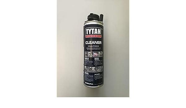 Limpiador Desengrasante Limpiador para espuma poliuretano 500 ml - Tytan: Amazon.es: Bricolaje y herramientas