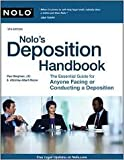 Nolo's Deposition Handbook 5th (fifth) edition Text Only