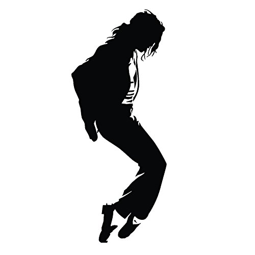 Michael Jackson Dancing Life vinyl Art Wall Sticker Home Decor Decal Mural King (5.5