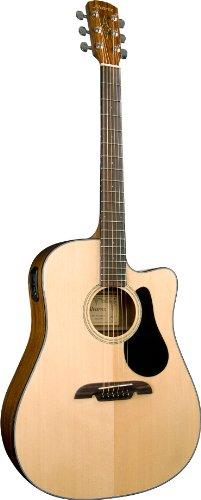 (Alvarez RD210C Regent Series Dreadnought Acoustic Guitar with Hard)