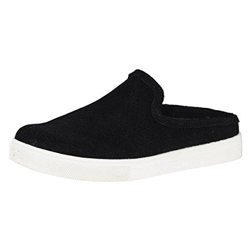 Skechers Moda Slide Thru Womens Slip On Sneaker Clogs Black 8.5