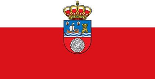 Durabol Gran Bandera de Cantabria 150 x 90 cm Satén: Amazon.es: Hogar