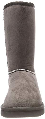 Mujer Classic Botas Gris 020 UMA Slouch para Esprit Grey Dark PaqnfXwq