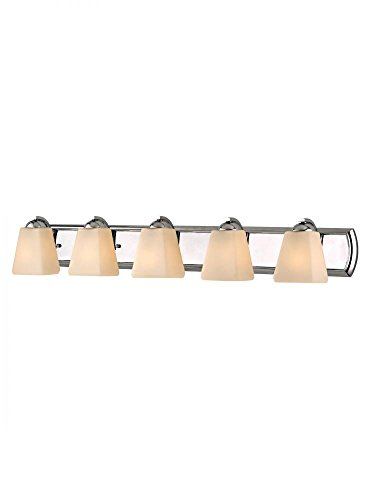 - Dolan Designs 3375-26 5Lt Bath Chrome Hammond 5 Light Bathroom Fixture