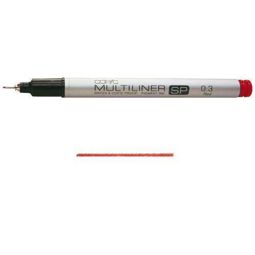 Copic Marker, Copic Multi Liner SP color 0.3 Sepia - Copic Multiliner Sp Color Pens