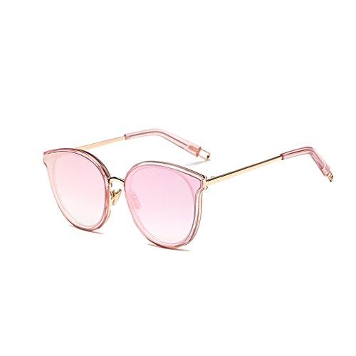 Sol Pink 100 Unisex Shades Gafas Polarizadas Gafas Star Protección Sol Pink Color De De Taiyangjing HAIYING Estilo Star UV HAngUg