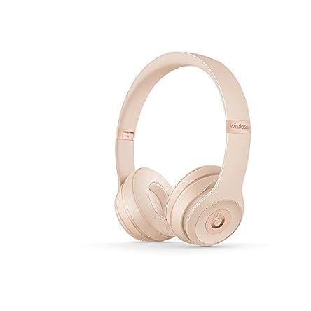 Beats Solo3 Wireless On-Ear Headphones – Matte Gold