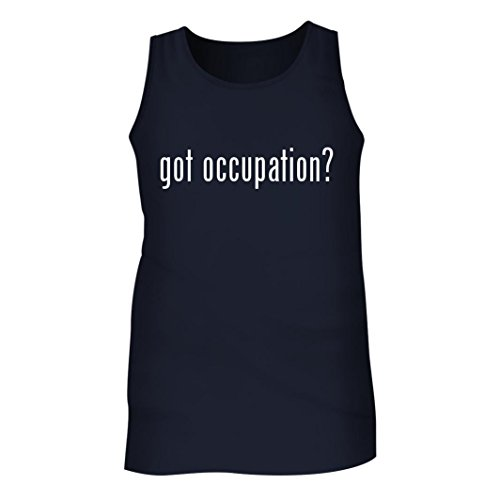 Tracy Gifts Got Occupation? - Men's Adult Tank Top, Navy, X-Large (Occupation Sensor Switch)
