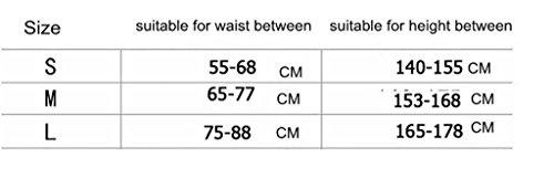 JZLV Adjustable Therapy Back Support Braces Belt Band Posture Shoulder Corrector for Fashion Health , l by JZL (Image #4)