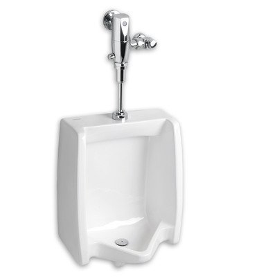 American Standard 6590.530.020 Washbrook Flowise 0.125 Gpf Top Spud Urinal with Selectronic Flush Valve