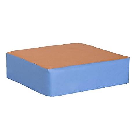 kidunivers - Puf cuadrado de espuma para niños de 1 a 3 años bebix: Amazon.es: Bebé