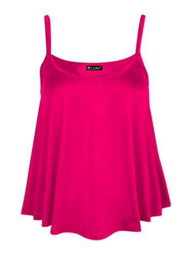 Elum® - Camiseta sin mangas - para mujer fucsia