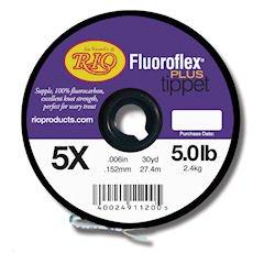 Rio Fluoroflex Plus Tippet - Rio Fluoroflex Plus Tippet 5x - 5lb - 30yd