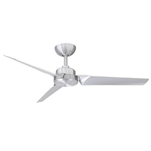 (Modern Forms FR-W1910-52-BA Roboto Ceiling Fan, Brushed Aluminum )