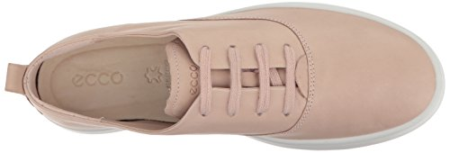 Cordones de Rosa para 1118 Rose Zapatos Brogue Leisure Dust ECCO Mujer qSERt4w4c