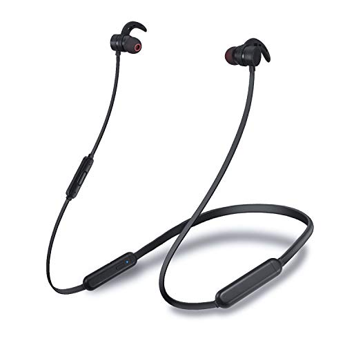 Bluetooth Headset, Sports Wireless Headset Bluetooth 5.0, Waterproof Running Headset with Microphone, HD Stereo Bluetooth Wireless Headset, Suitable for Sports, Running, Fitness