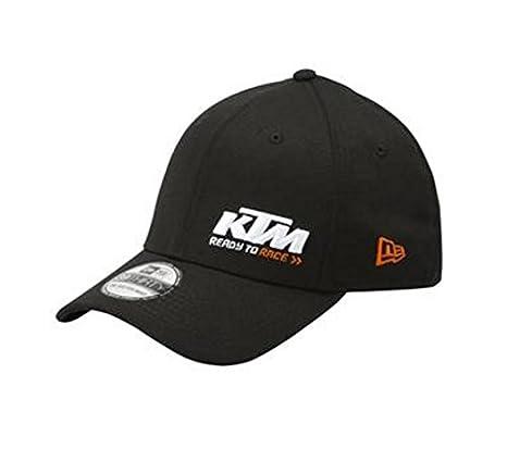abcffc17279 Amazon.com  KTM RACING HAT BLACK UPW1758200  Sports   Outdoors