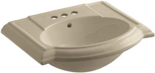 KOHLER K-2287-4-33 Devonshire Bathroom Sink Basin with 4