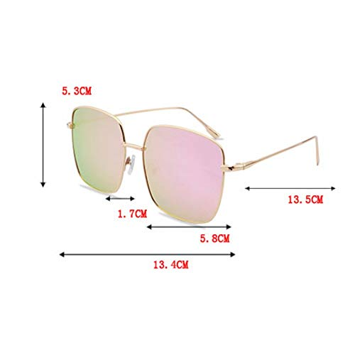 La Los De Hombres Polarizadas Marco Sol Redondo Grande Plaza I Mujer Faceglasses Gafas Para FA0XnZX