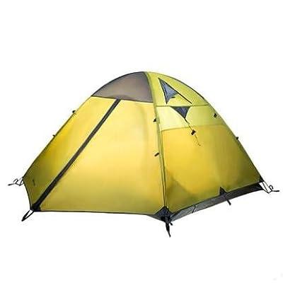 équipement de plein air alpinisme Camping Vent et la pluie trois saisons en aluminium tiges trois double Camping tentes