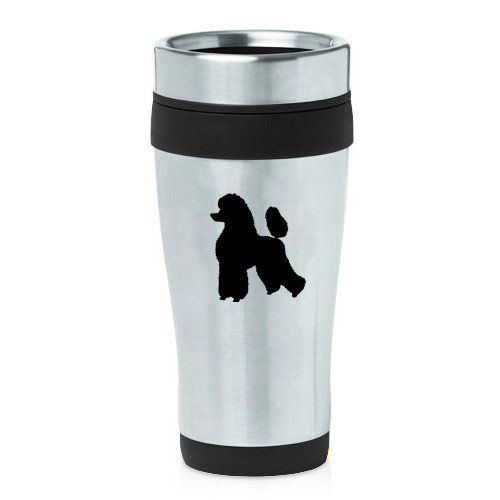 16oz Insulated Stainless Steel Travel Mug Poodle - Travel Mug Poodle