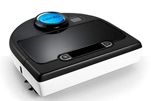 Neato Robotics 945-0174 D85 Robotic Vacuum Cleaner with Charging Station, 18/10 Steel, 43 W, Black