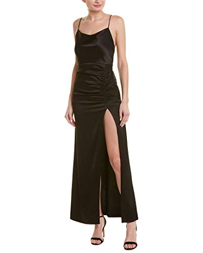alice + olivia Womens Diana Gown, 10, Black