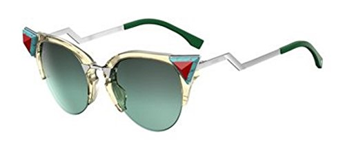 Fendi FF0041NS-0C1E Yellow Green-52mm womens
