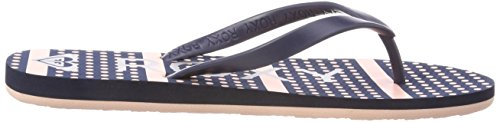 Tongs Strip Roxy Femme Bleu Tahiti navy Nsp Vi SpEq4wP