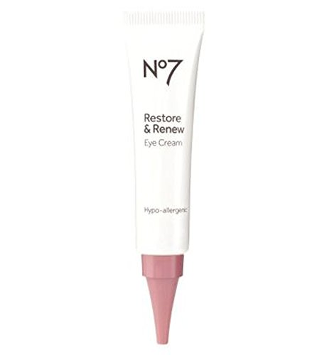 No7復元&アイクリームを更新 (No7) (x2) - No7 Restore & Renew Eye Cream (Pack of 2) [並行輸入品]   B01MSIGZ9G