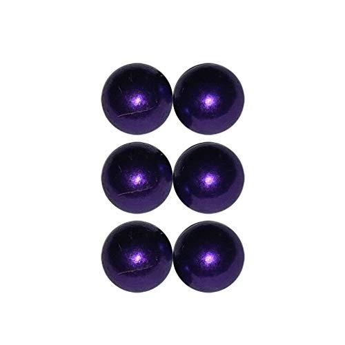 ℬeauty Eve 6Pcs/lot Body Clamps Temporary Unique Non Piercing Magnet Nipple Balls