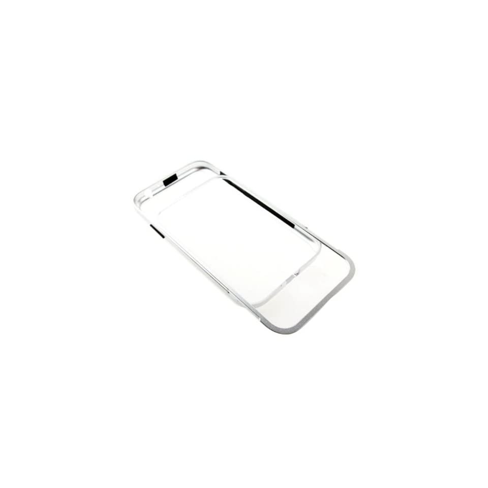 New Aluminum Metal Frame Bumper Case Cover For Samsung N7100 Galaxy Note 2 Silver